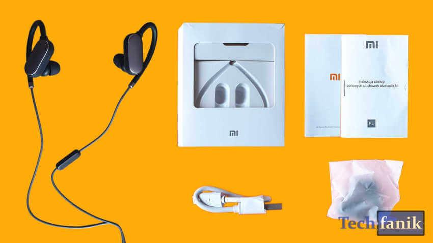 Xiaomi Mi Sports Opakowanie i jego zawartość