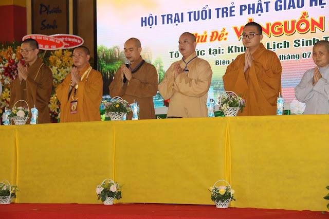 Hơn 1000 trại sinh tham dự lễ khai mạc Hội trại Tuổi trẻ Phật giáo Hệ phái Vĩnh Nghiêm lần 3 với chủ đề 'Về Nguồn' - Ảnh 4
