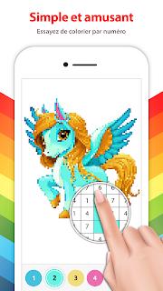 [JEU] Licorne Peinture par Numero : jeu de coloriage par pixel [Gratuit] Screenshot-2%2B%25283%2529