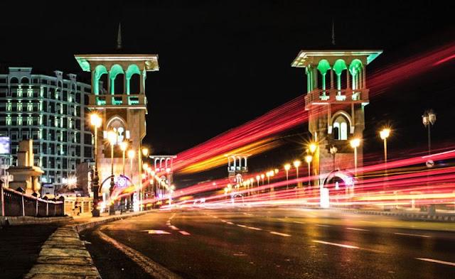 الاسكندرية كوبري ستانلي Stanley Bridge