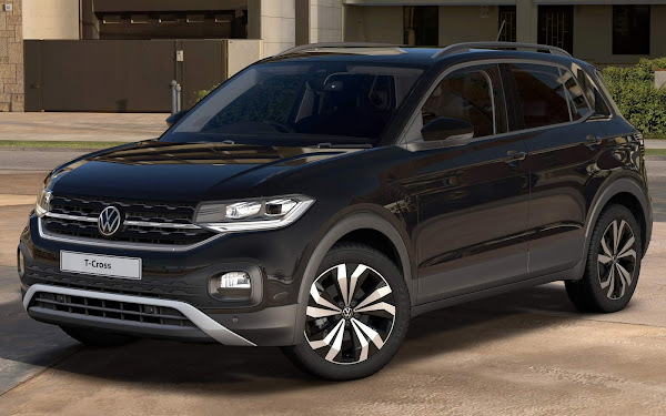 VW T-Cross 2022 ganha versão Black Edition no mercado europeu