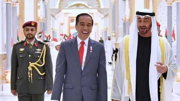 Jokowi dan Pangeran Abu Dhabi Sepakati Investasi Rp 315 T