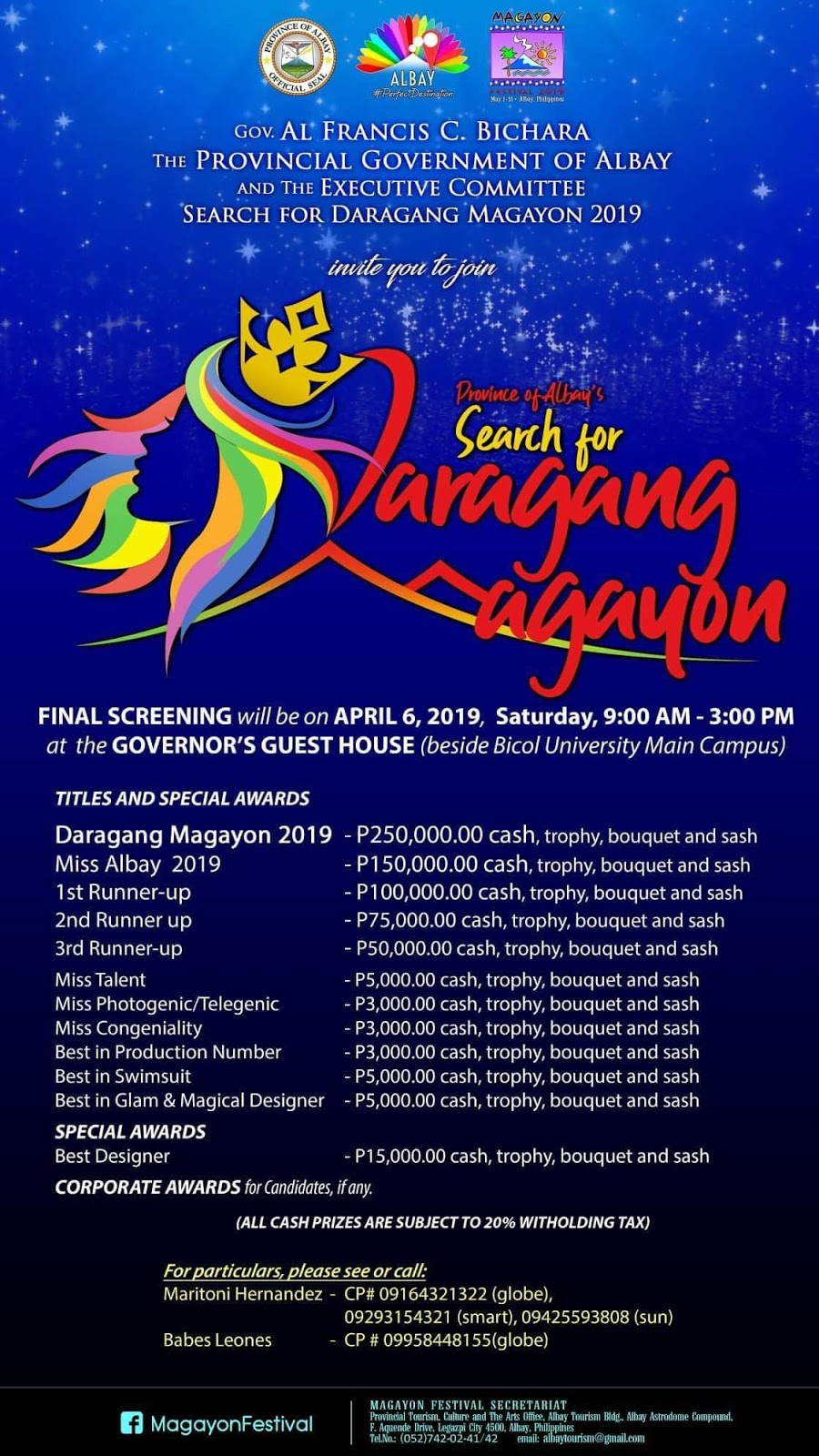 How to Win Daragang Magayon Crown?
