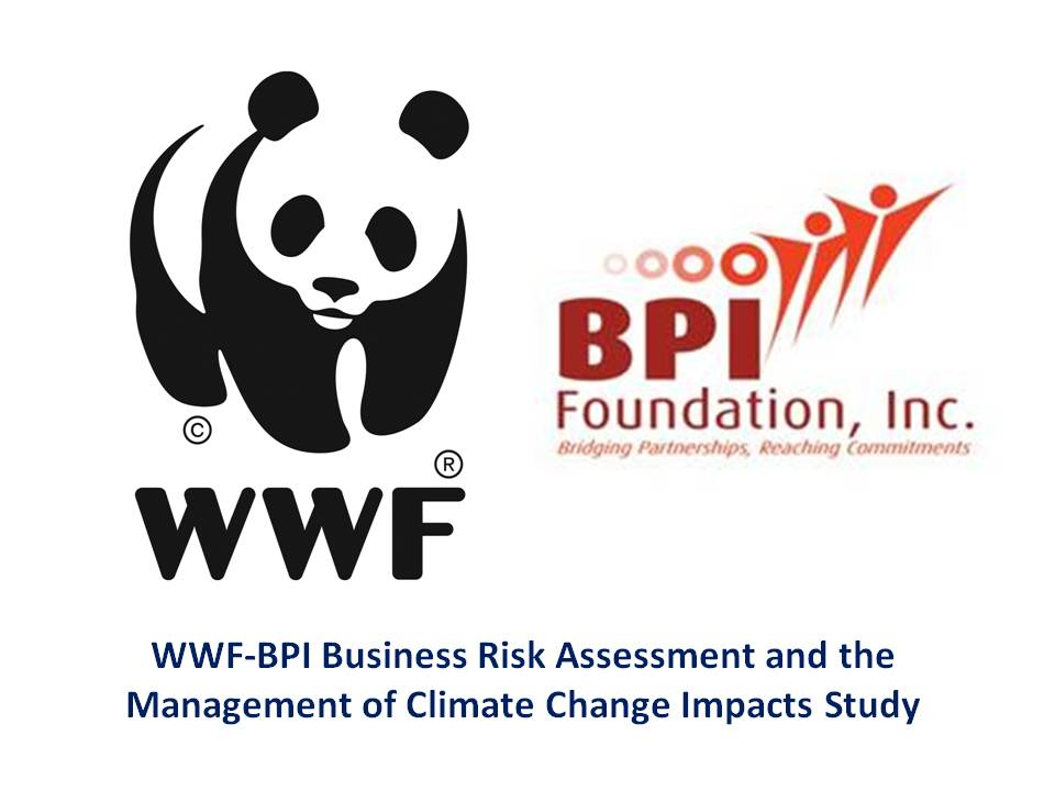 WWF-BPI Business Risk Assessment and the Management of Climate