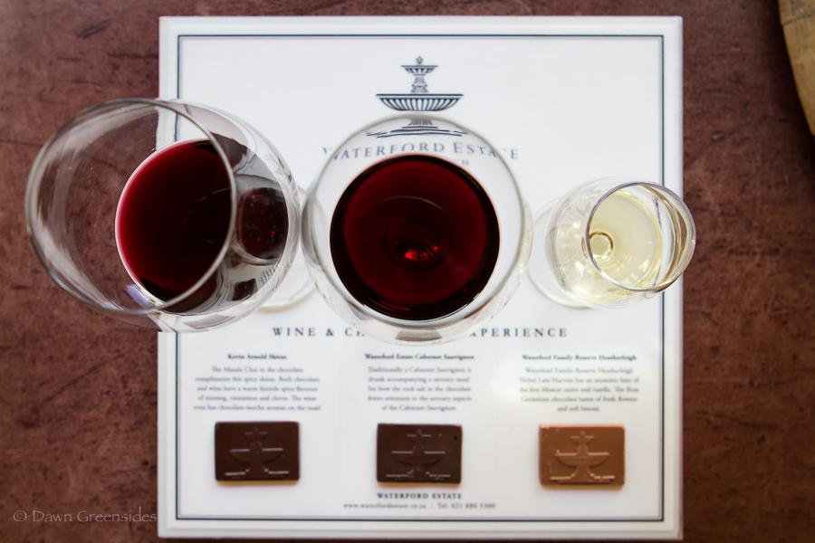 waterford stellenbosch chocolate wine