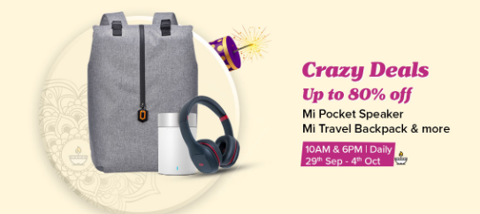 Get 80% Off on Traveller Bag, Speaker, Ear Phone & Other Product