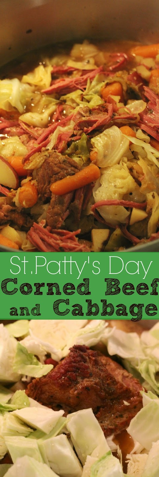Roasting your corned beef before boiling it adds so much flavor!