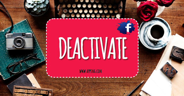 Deactivate Facebook Account Immediately | Deactivate My FB Account Temporarily