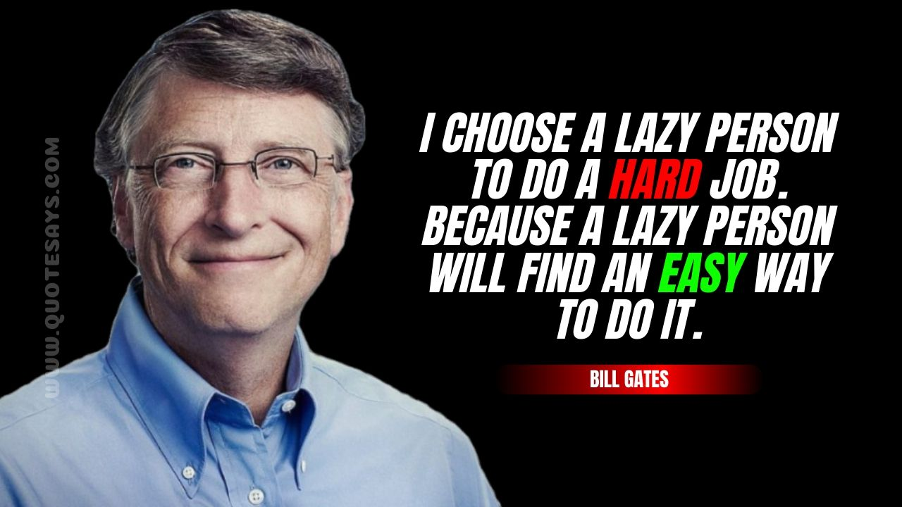 Bill Gates Quotes, Quotes by Bill Gates, Inspirational Quotes