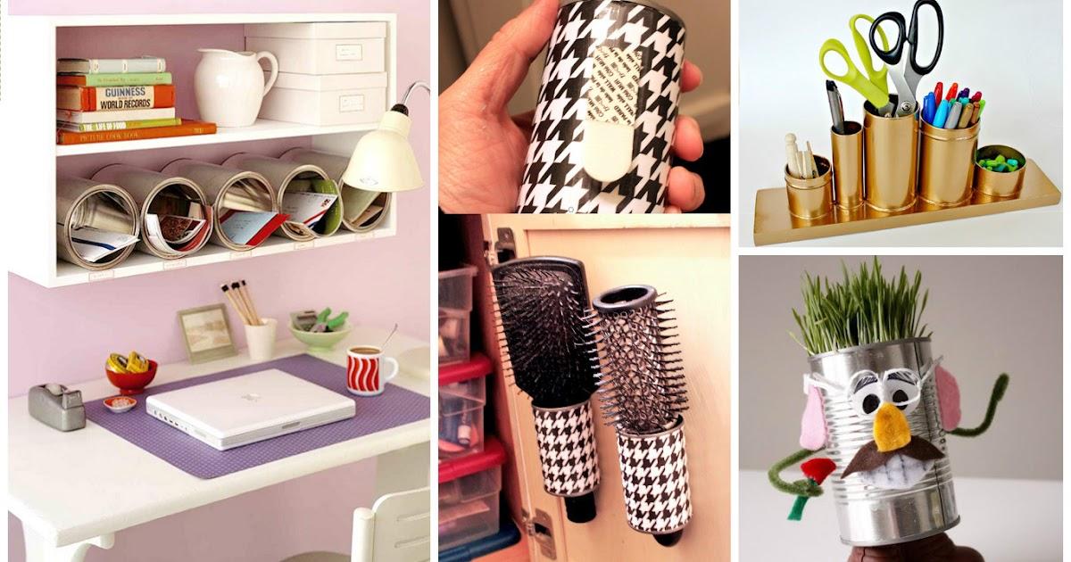 8 ideas creativas para reciclar latas y usarlos en el - Manualidades y bricolaje para el hogar ...
