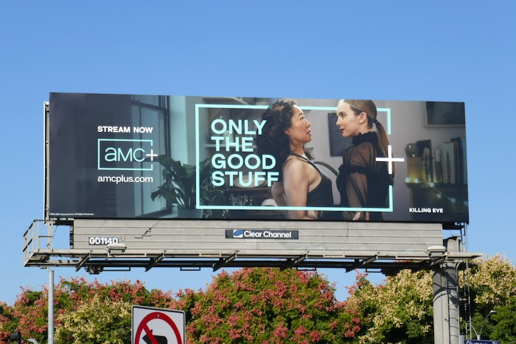 Killing Eve AMC Plus billboard