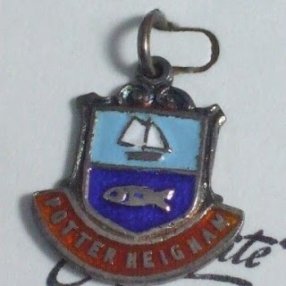 Potter Heigham travel charm by Exquisite in silver