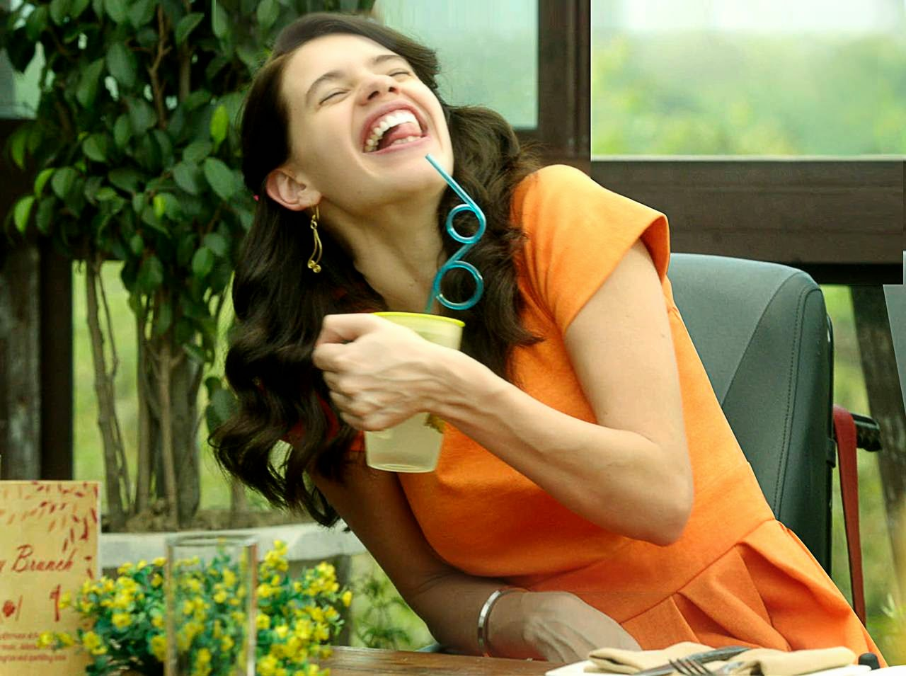 margarita with a straw kalki koechlin