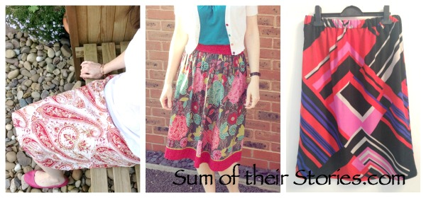 dress to skirt refashions