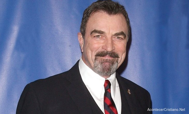 Actor cristiano Tom Selleck