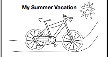 Classroom Freebies: Free Summer Vacation Writing Paper