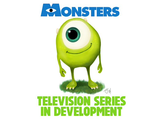 Pixar Monsters Franchise TV Show in Development for Disney Streaming Service