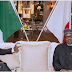 S'African president meets Buhari in Japan, says steps being taken to stop killing of Nigerians in his country