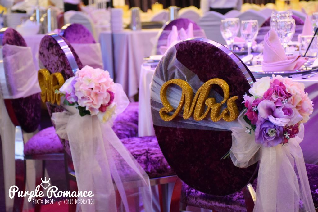 Purple romance event malaysia wedding decoration at unique seafood restaurant citta mall junglespirit Image collections