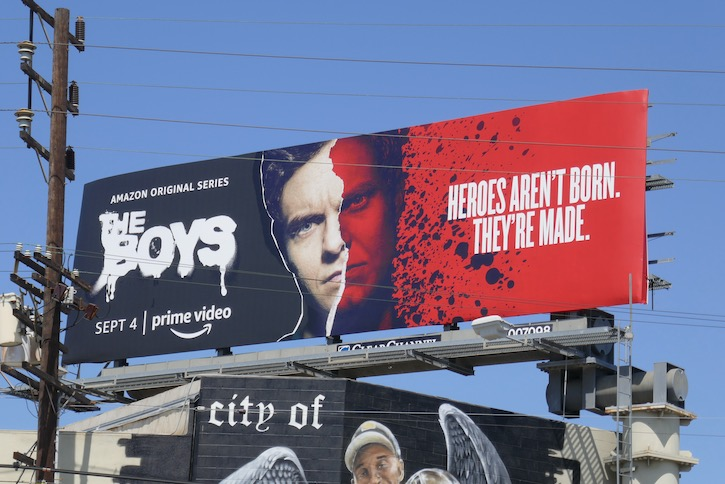 Boys s2 Heroes arent born made billboard