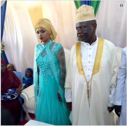 FORCED MARRIAGE? 73-YEAR-OLD RICH POLITICIAN MARRIES 25-YEAR-OLD LADY.