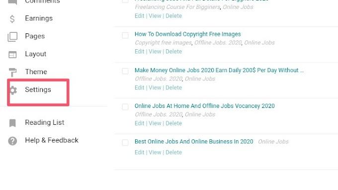 Blogger Complete SEO Settings 2020  Advance Blogger SEO Settings 2020  