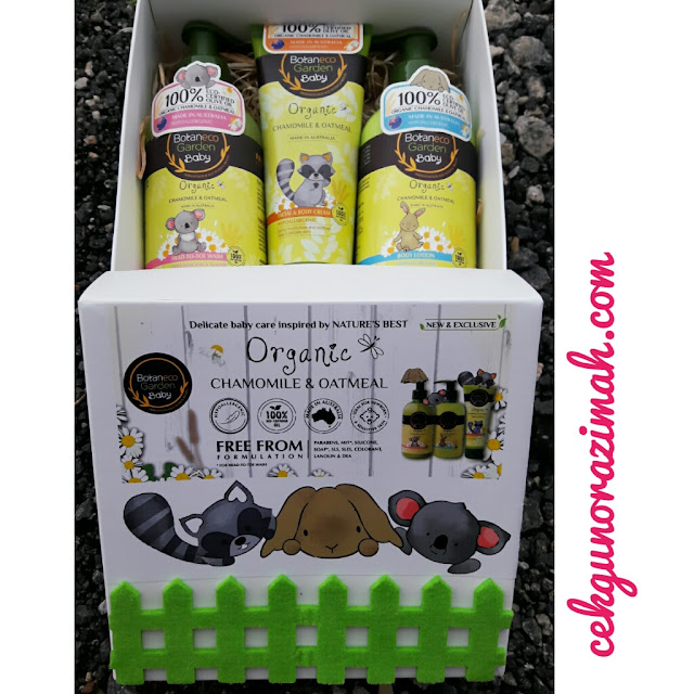 Botaneco Garden Baby, produk baby organik dari Australia, produk baby organik, produk baby bebas paraben, produk baby bebas sabun