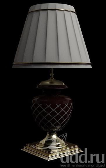 [3dmodelfree] desk lamp