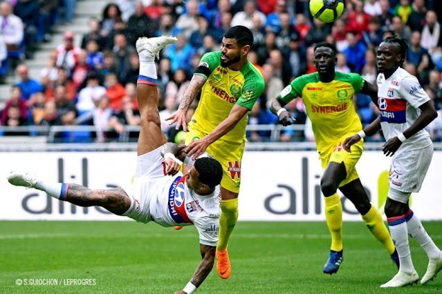 Prediksi Nantes vs Olympique Lyon 19 April 2021