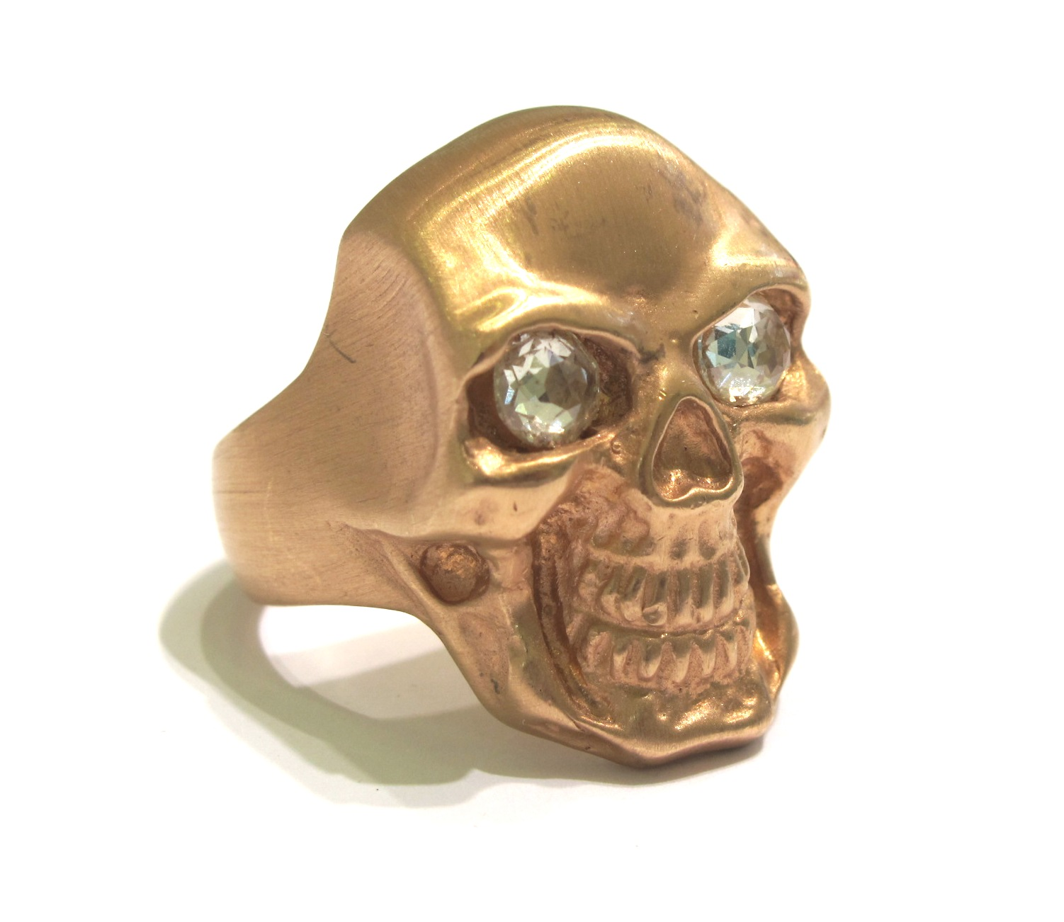 Pin Gold Skull Rings Pictures on Pinterest