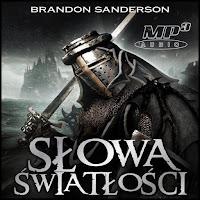 Słowa światłości Brandon Sanderson audiobook okładka