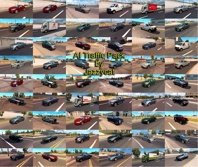 ats ai traffic pack v5.8 screenshots 2