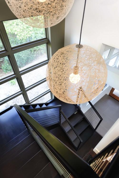 Stairwell Lighting & interior design musings: Stairwell Lighting