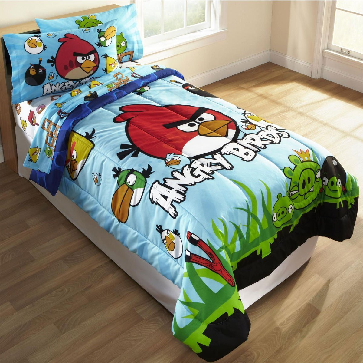 Online Sofa Cover Material 2 Piece Slipcover T Cushion Home Furniture Shop And Sale: Angry Birds Twin ...
