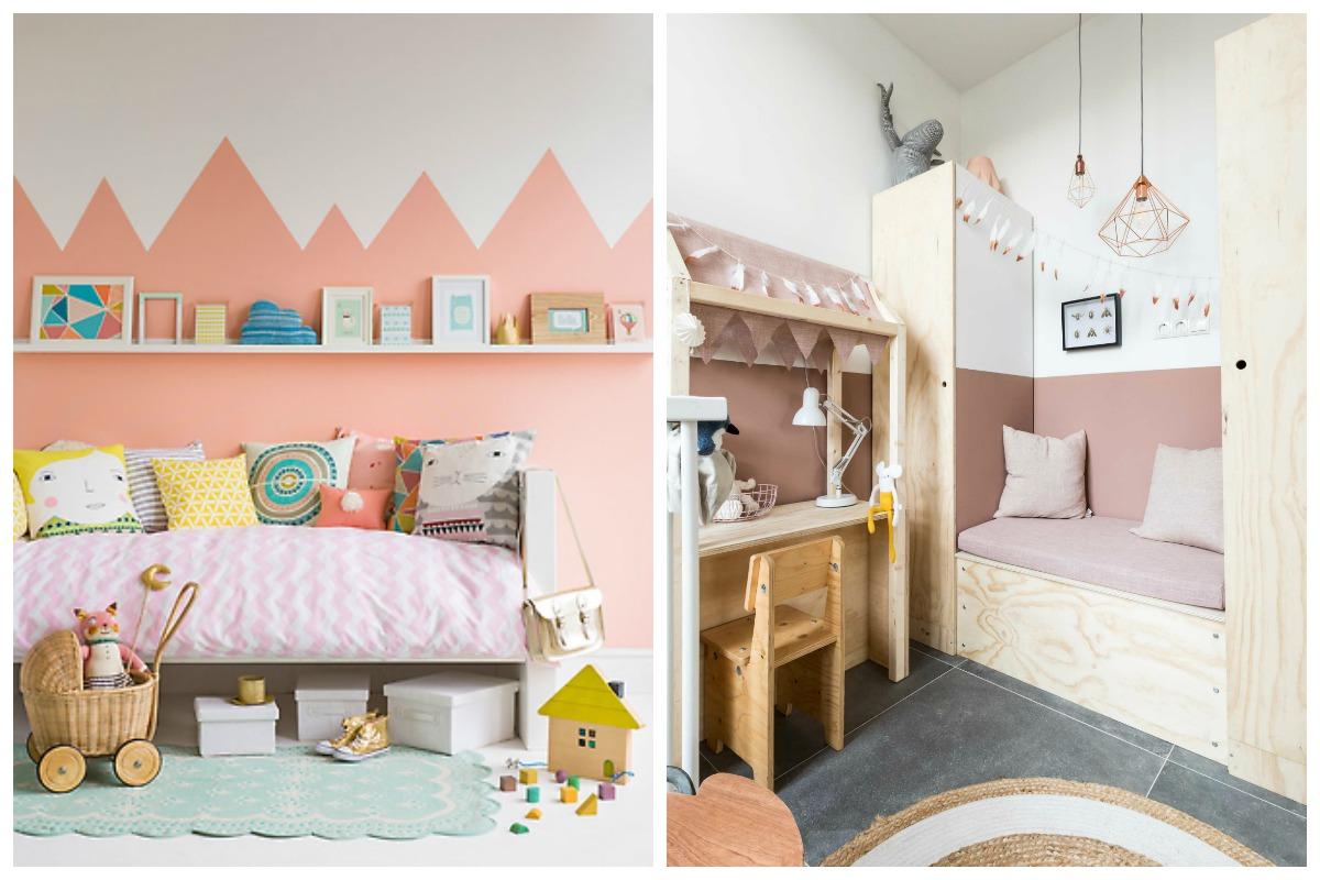 como pintar las paredes del cuarto de los niños