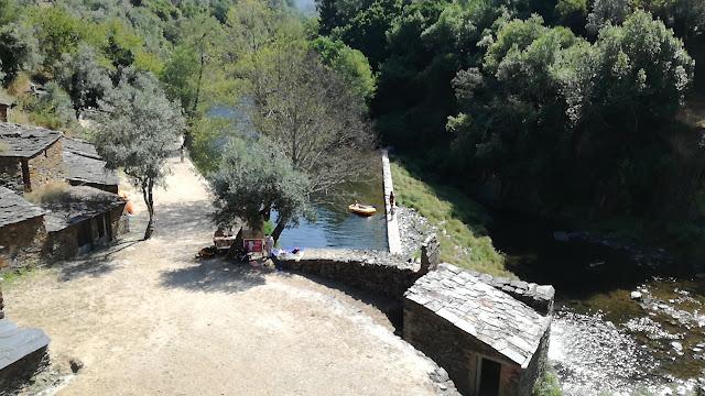 Zona Fluvial da Ponte velha na Cabreira