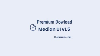 Median UI v1.5 Responsive Blogger Template