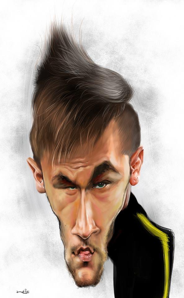 Neymar Junior por Liu Chia-hui