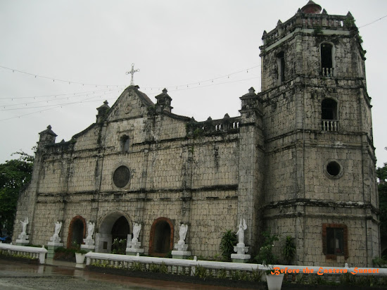An old Catholic church in Danao City, Cebu