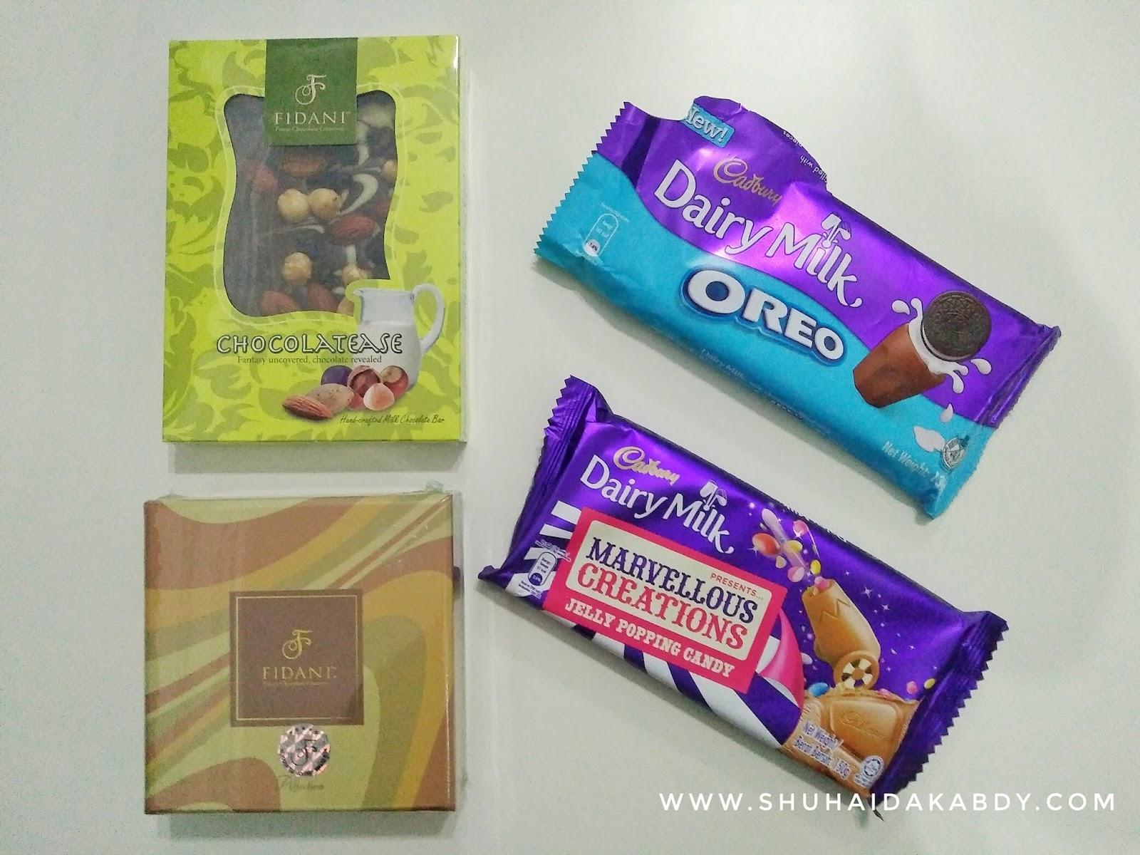 Coklat Cadbury Perisa Oreo Yang Baru