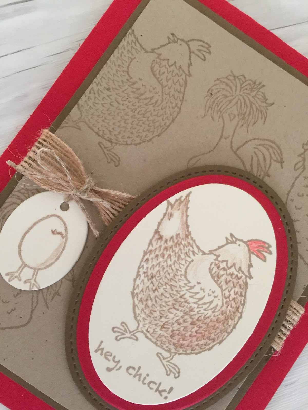 Stamped Sophisticates Stampin Up Card Made With Hey Chick