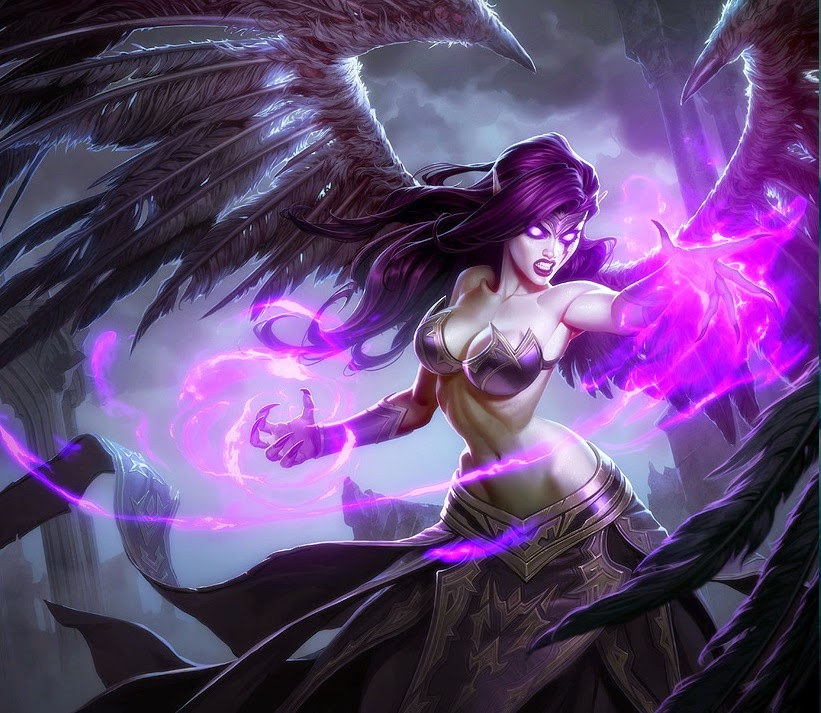 Champion Redesign: Morgana, the Fallen Angel | League of ...
