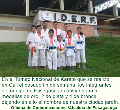 Equipo de Karate Do de Fusagasugá obtiene grandes logros a nivel nacional.