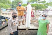 Aksi Kemanusiaan, Kapolsek Cisoka Bantu Distribusi Oksigen Ke Rumah Warga Yang Sedang Isolasi Mandiri