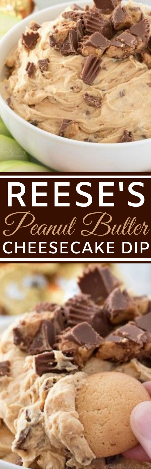 PEANUT BUTTER CHEESECAKE DIP #desserts #peanutbutter #cheesecake #easy #recipes