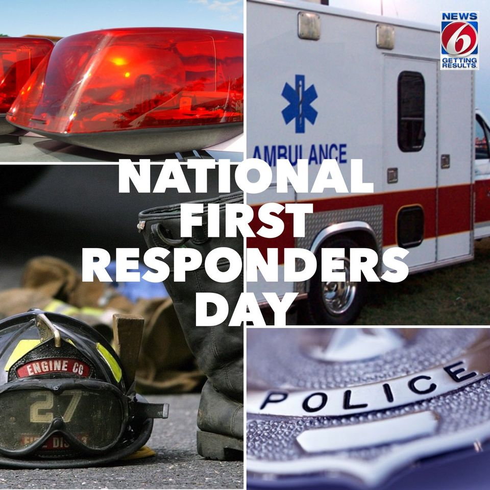 National First Responders Day Wishes For Facebook