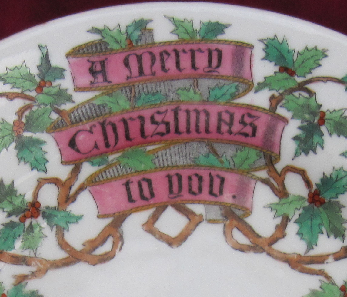 Spode And A Victorian Christmas Pattern