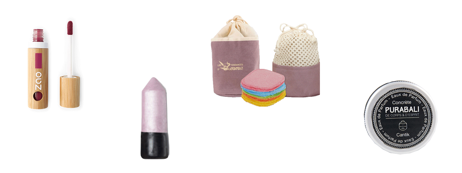 idées cadeaux zéro déchets maquillage