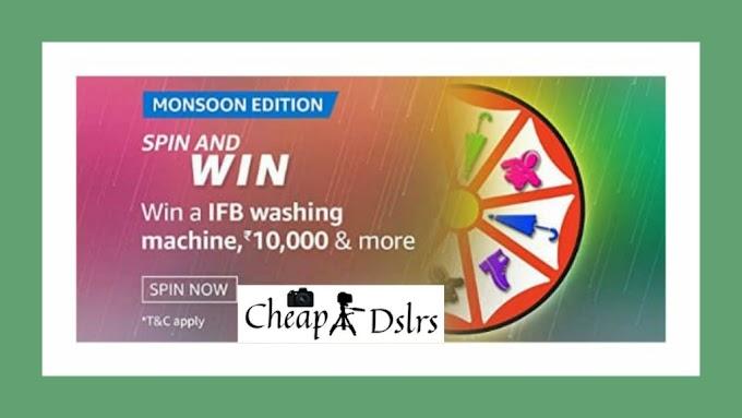 Amazon Mansoon Edition Spin And Win Quiz Answers – IFB Washing Machine