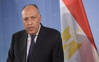 عاجل وزير الخارجية المصري يزور بغداد غداً